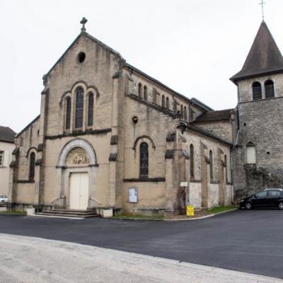 L'église de Courtenay