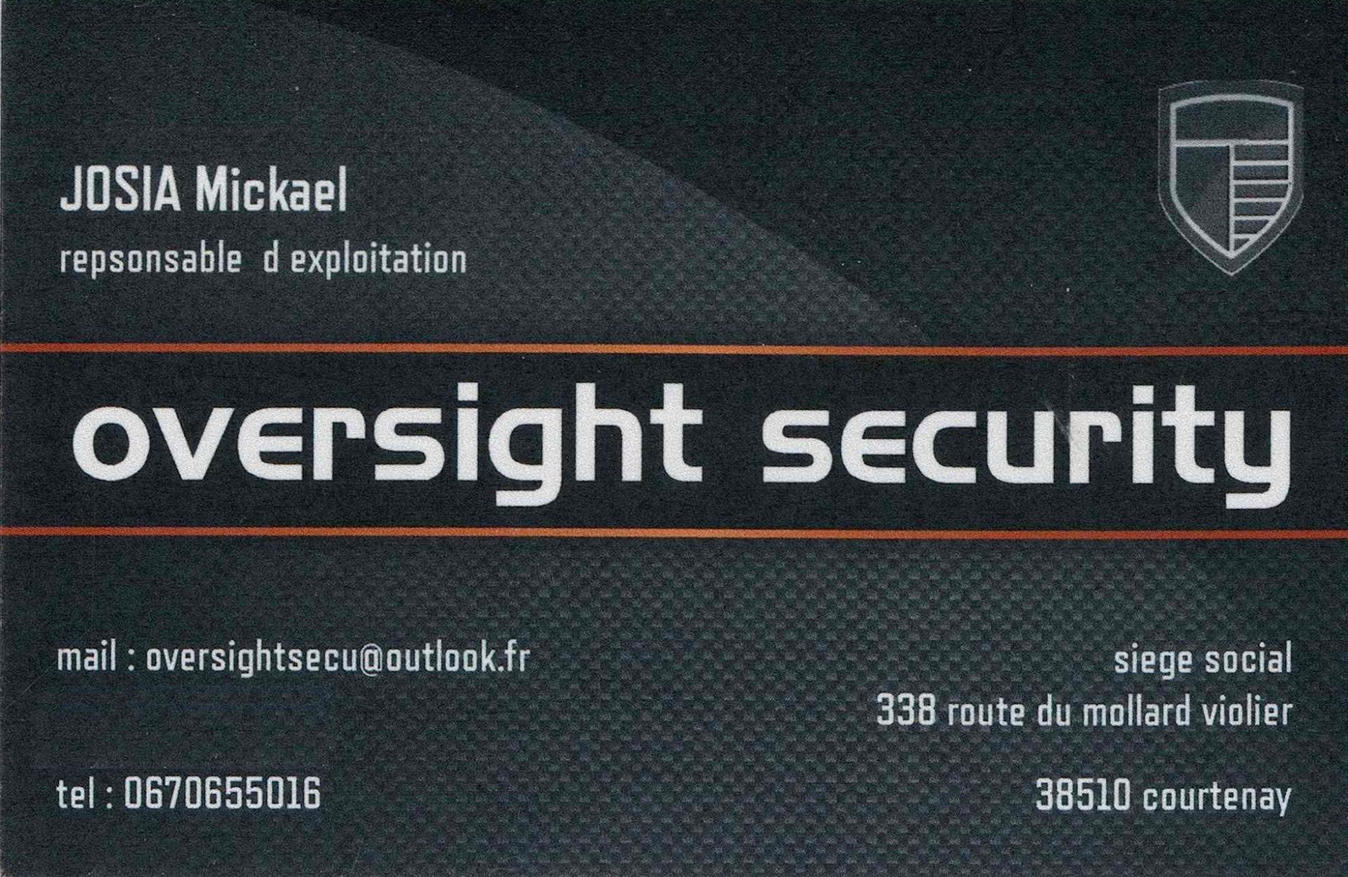 Oversight security