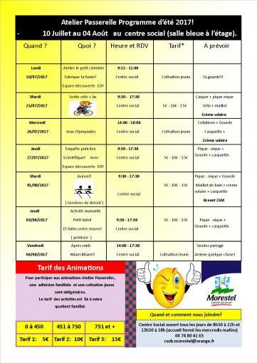 Programme a p ete 2017 p4